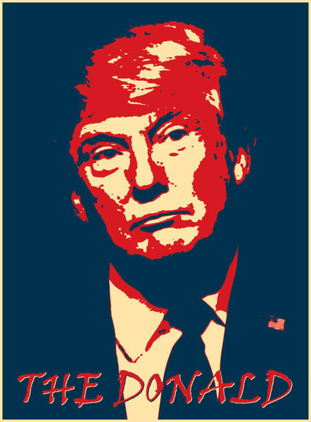 Digital Art - The Donald by Richard Reeve