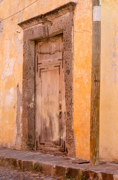 Photograph - The Door At Number 29. by Rob Huntley