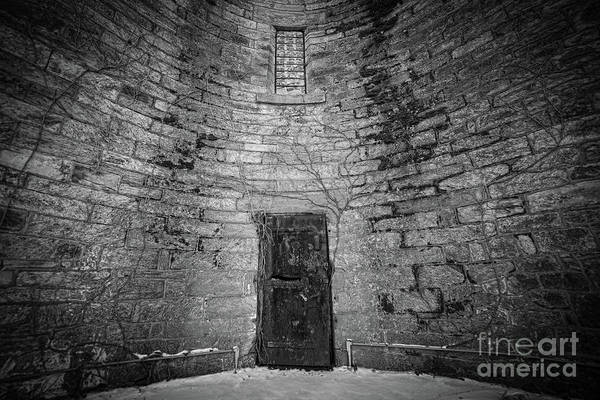 Wall Art - Photograph - The Door Bw  by Michael Ver Sprill