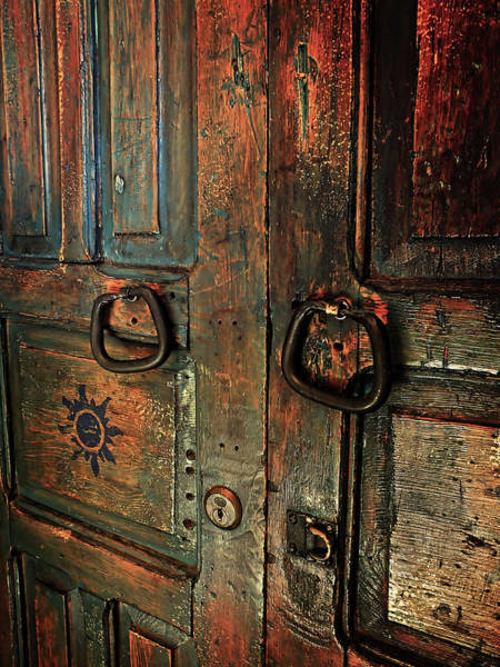 Photograph - The Door Of Many Colors by Lucinda Walter