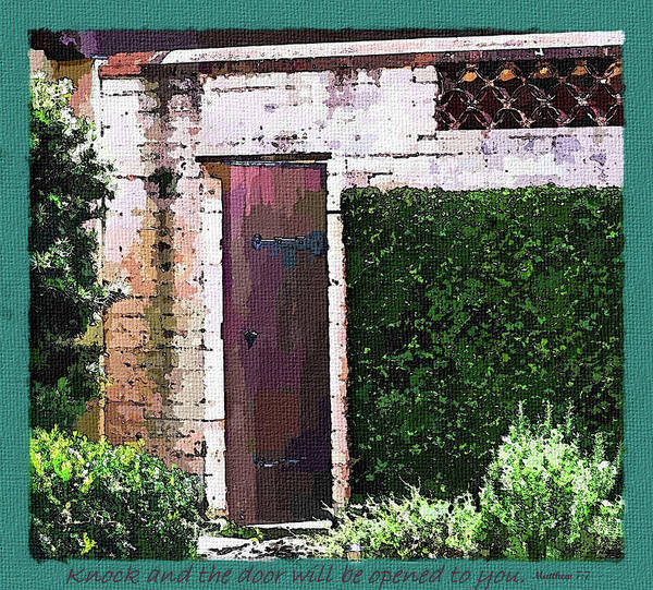 Photograph - The Door by Susan Molnar