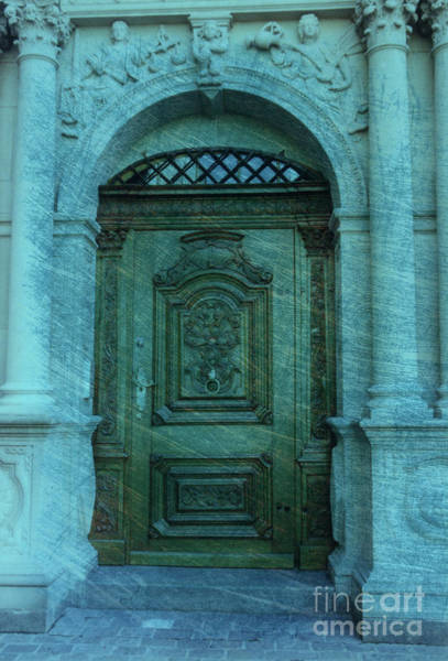 The Door To The Secret Art Print