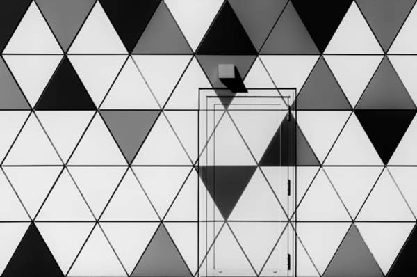 Geometric Photograph - The Door Without Handle by Gerard Jonkman