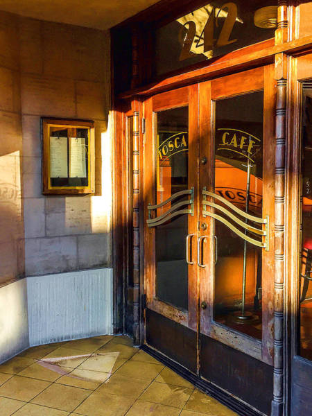 Photograph - The Doors To Tosca by Bonnie Follett