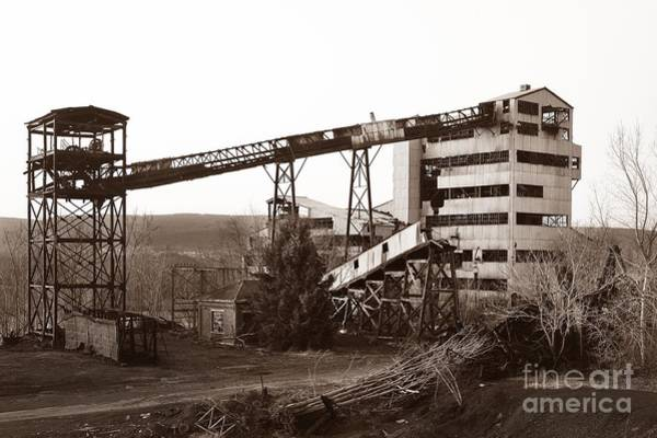 The Dorrance Coal Breaker Wilkes Barre Pennsylvania 1983 Art Print