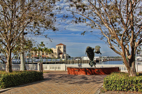 Wall Art - Photograph - The Downtown Bradenton Waterfront by HH Photography of Florida