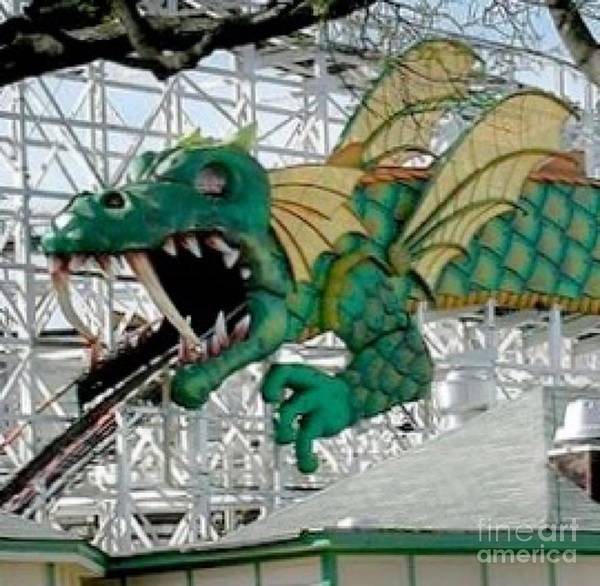 Wall Art - Photograph - The Dragon Coaster by Christy Gendalia