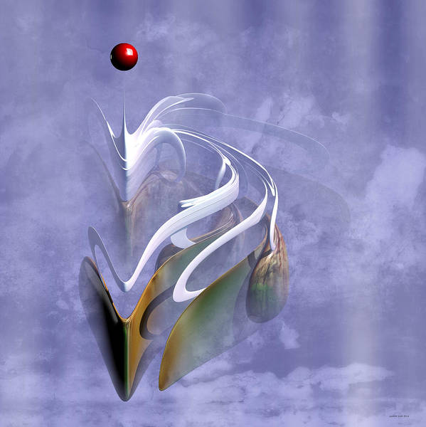 Wall Art - Digital Art - The Dragon by Lorant Zsolt