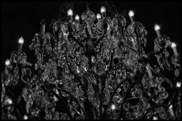 Art Print featuring the photograph The Drake Chandelier by Kyle Hanson