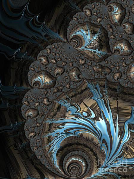 Digital Art - The Drama Between Earth And Sky by Jon Munson II