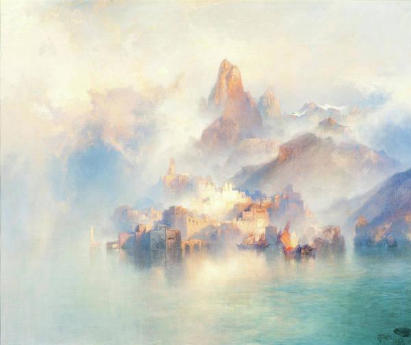 Wall Art - Painting - The Dream City by Thomas Moran