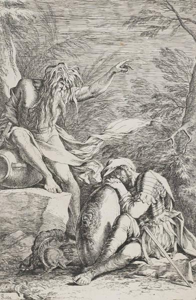 The Dream Of Aeneas Art Print