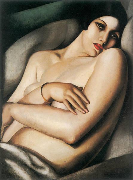 Tamara De Lempicka Painting - The Dream by Tamara de Lempicka