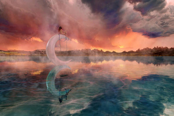 3d Render Digital Art - The Dreamery  by Betsy Knapp