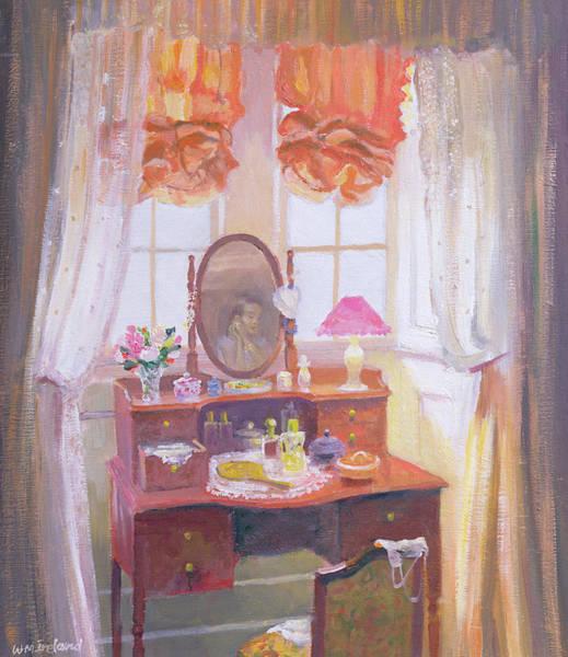 Dressing Painting - The Dressing Table by William Ireland