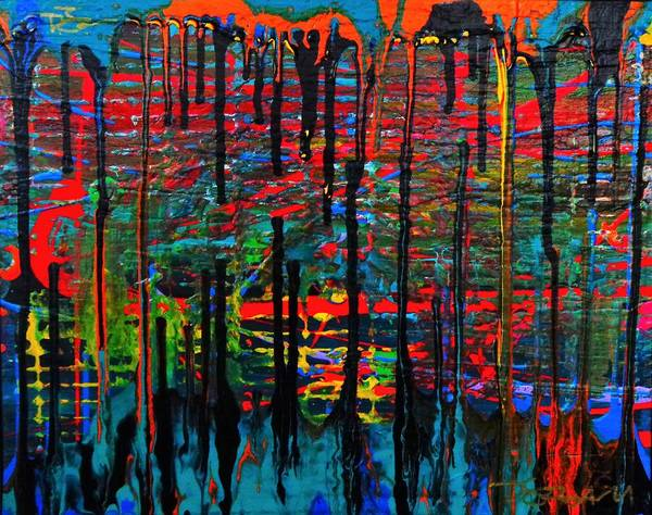 Painting - The Drip by Dane Newton