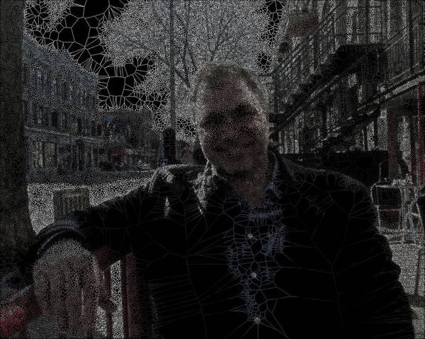 Digital Art - The Driver Nowadays by Stephane Poirier