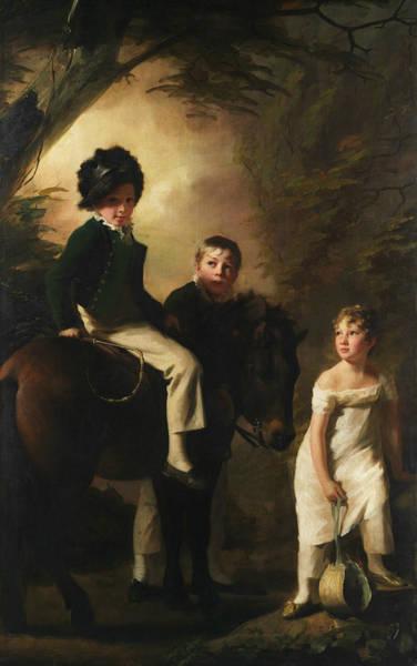 Painting - The Drummond Children by Henry Raeburn