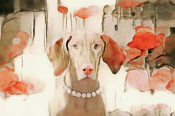Mixed Media - The Duchess by Susan Maxwell Schmidt