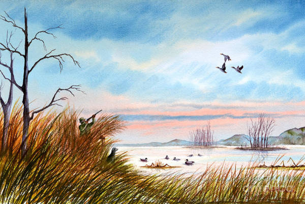 Wall Art - Painting - The Duck Hunters Companion by Bill Holkham