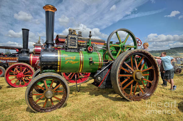 Steam Engine Photograph - The Duke Of Ongar by Smart Aviation