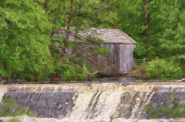 Photograph -  The Dummerston Covered Bridge by Jeff Folger