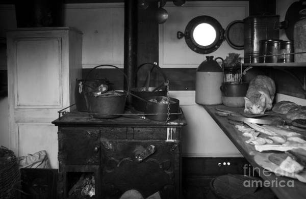Photograph - The Dunbrody Crew's Kitchen by RicardMN Photography
