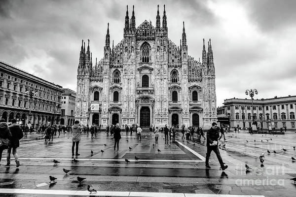 Photograph - The Duomo In Milan, Italy by Global Light Photography - Nicole Leffer