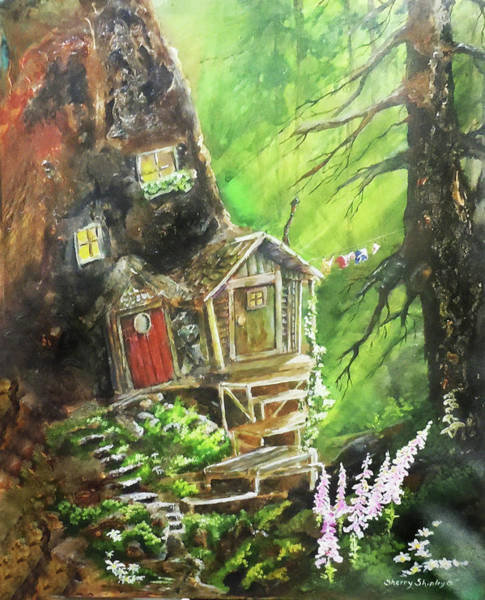 Painting - The Duplex by Sherry Shipley