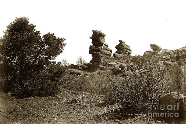 Photograph - The Dutchmangarden Of The Gods, Colorado by California Views Archives Mr Pat Hathaway Archives