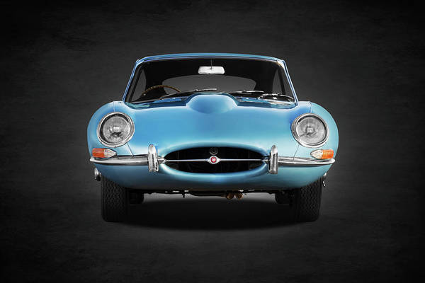 Wall Art - Photograph - The E Type Face by Mark Rogan