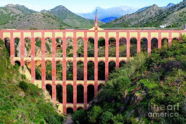 Photograph - The Eagle Aqueduct by Heiko Koehrer-Wagner