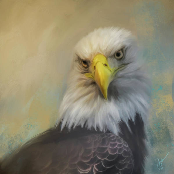 Painting - The Eagle Eye by Jai Johnson