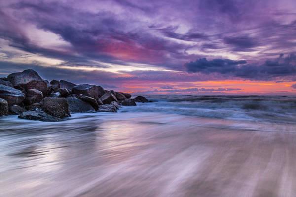 Photograph - The Edge - Folly Beach, Sc by Donnie Whitaker