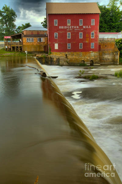 Photograph - The Edge Of The Spillway by Adam Jewell