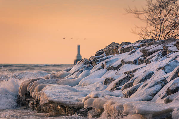 Photograph - The Edge Of Winter by James Meyer