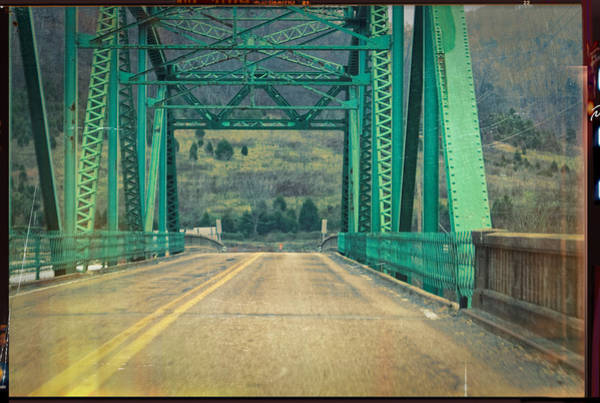 Photograph - The Edward R Talley Bridge In Harlan Ky by Lars Lentz