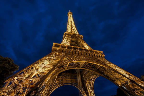 Wall Art - Photograph - The Eiffel Tower At Night by Ayhan Altun