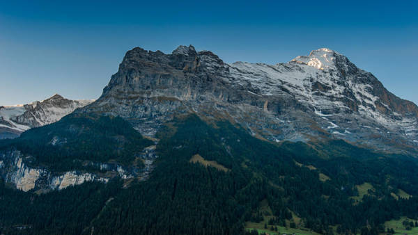 Photograph - The Eiger by Brenda Jacobs