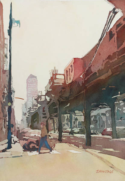 Painting - The El by Jenny Armitage