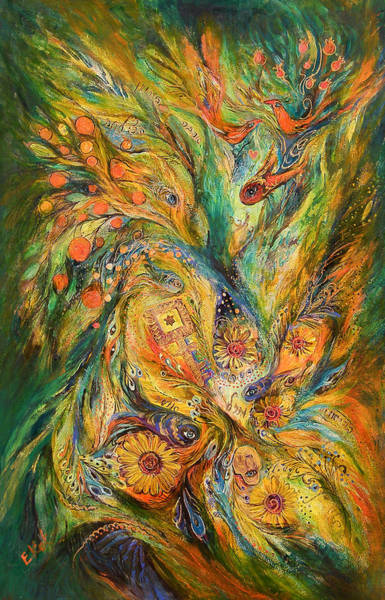 Wall Art - Painting - The Elegy by Elena Kotliarker