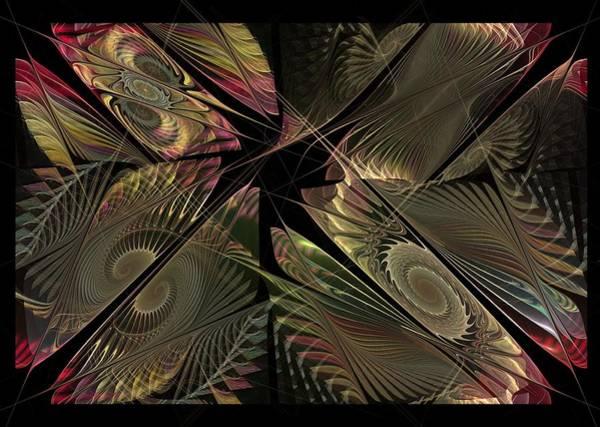 Wall Art - Digital Art - The Elementals - Calling The Corners by NirvanaBlues