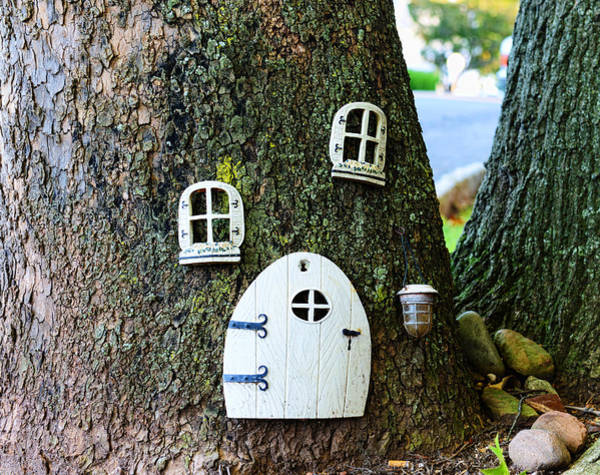 Troll Photograph - The Elf House by Paul Ward