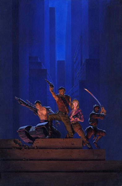 Imaginative Painting - The Eliminators by Richard Hescox