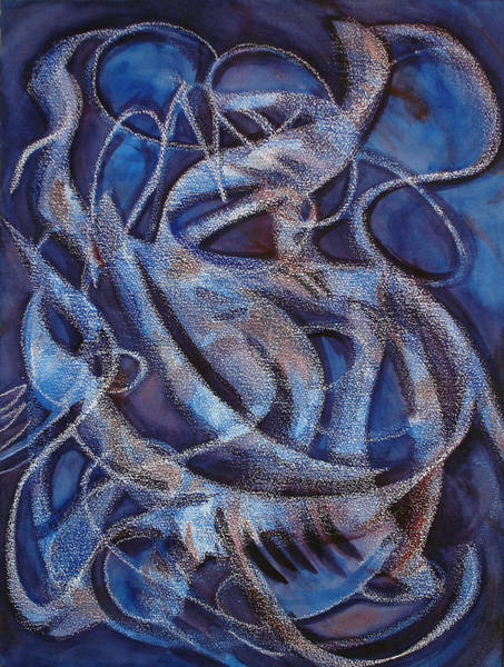 Painting - The Eloquence Of Dreaming by Lynda Lehmann