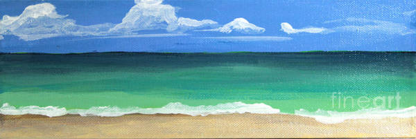 Painting - The Emerald Sea by Robyn Saunders