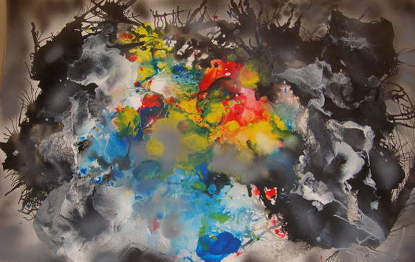 Painting - The Emergence Of Color by Eugene Foltuz