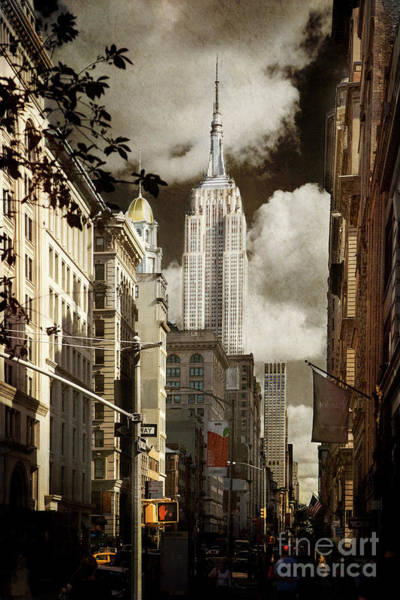Photograph - The Empire State Building by Elena Nosyreva