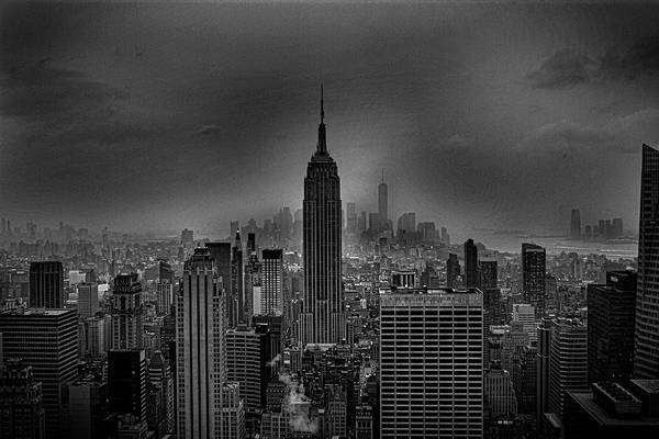The Empire Photograph - The Empire State Building by Martin Newman