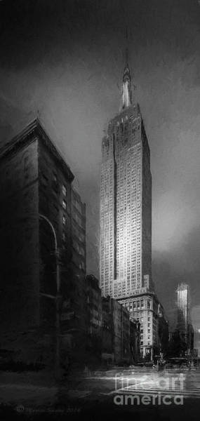 Wall Art - Photograph - The Empire State Ch by Marvin Spates